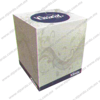 Panuelo Facial Kleenex Sellection Cubo 90hjs x 36cj